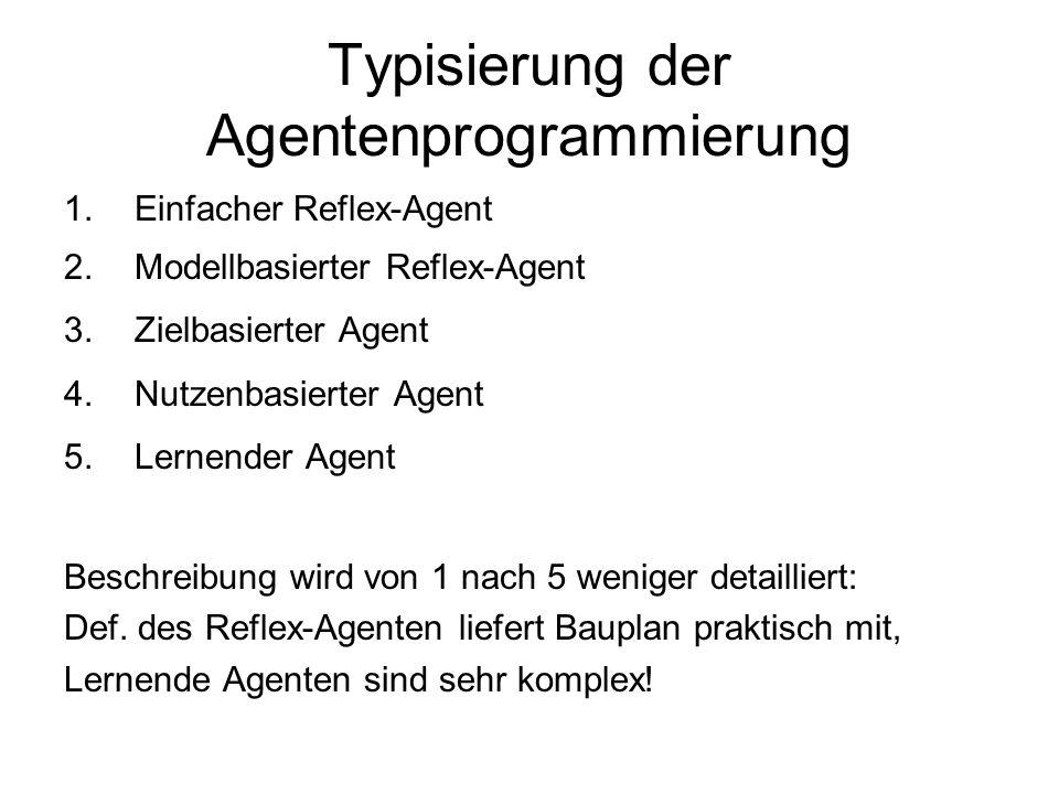 Typisierung der Agentenprogrammierung