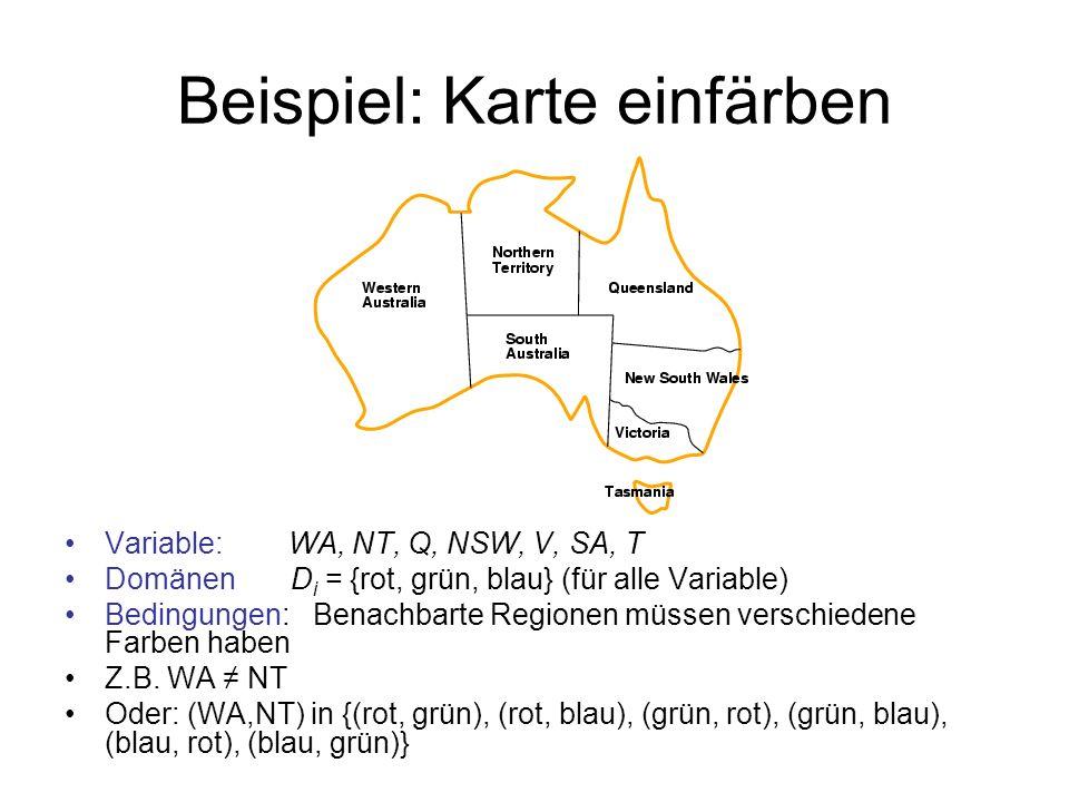 Beispiel: Karte einfärben