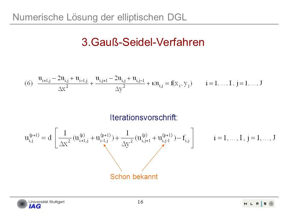 3.Gauß-Seidel-Verfahren