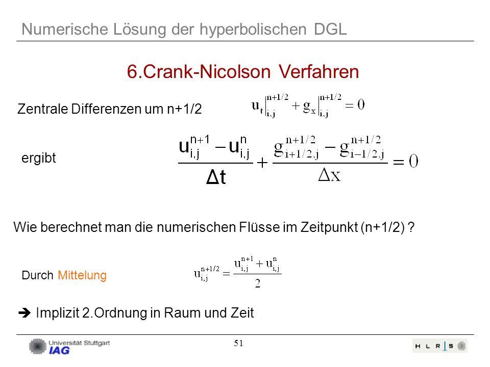 6.Crank-Nicolson Verfahren