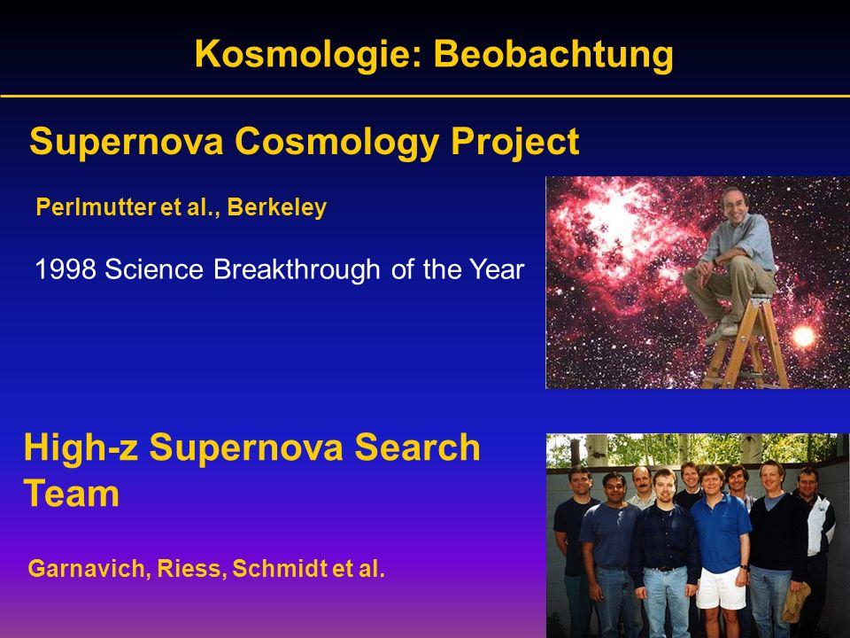 Kosmologie: Beobachtung