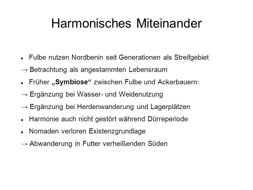 Harmonisches Miteinander