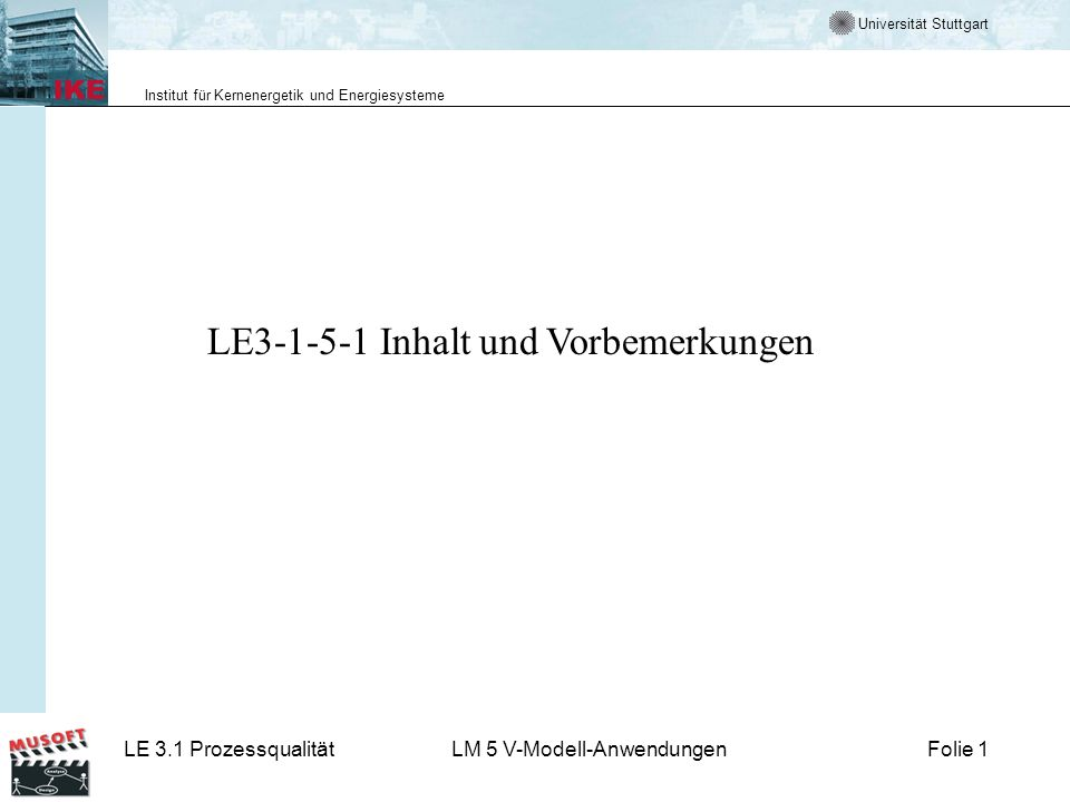 LE3-1-5-1 Inhalt und Vorbemerkungen