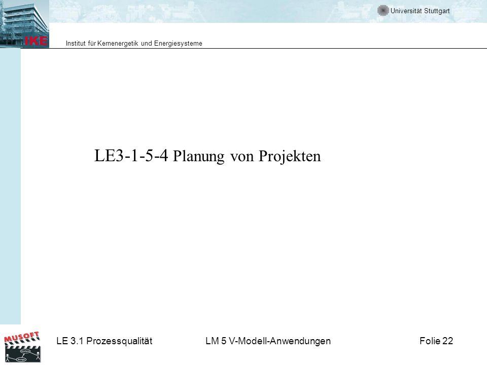 LE3-1-5-4 Planung von Projekten