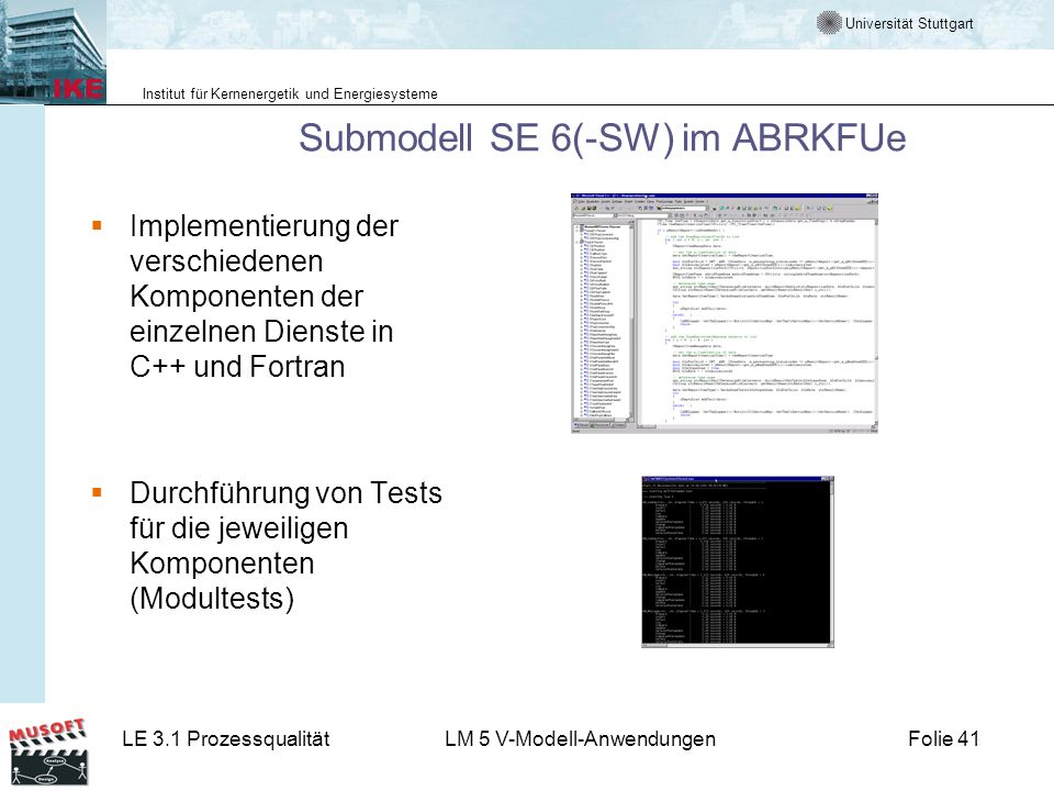 Submodell SE 6(-SW) im ABRKFUe