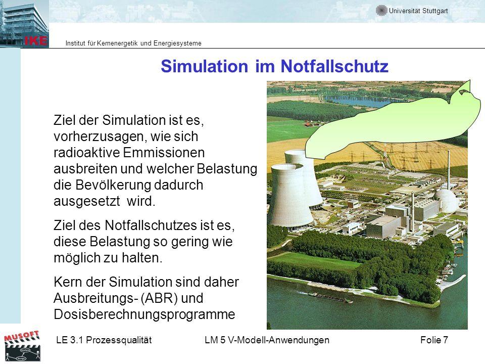 Simulation im Notfallschutz