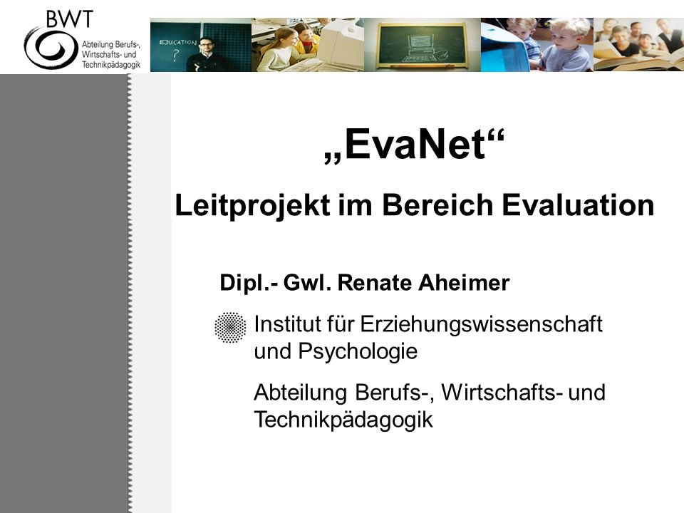 Leitprojekt im Bereich Evaluation