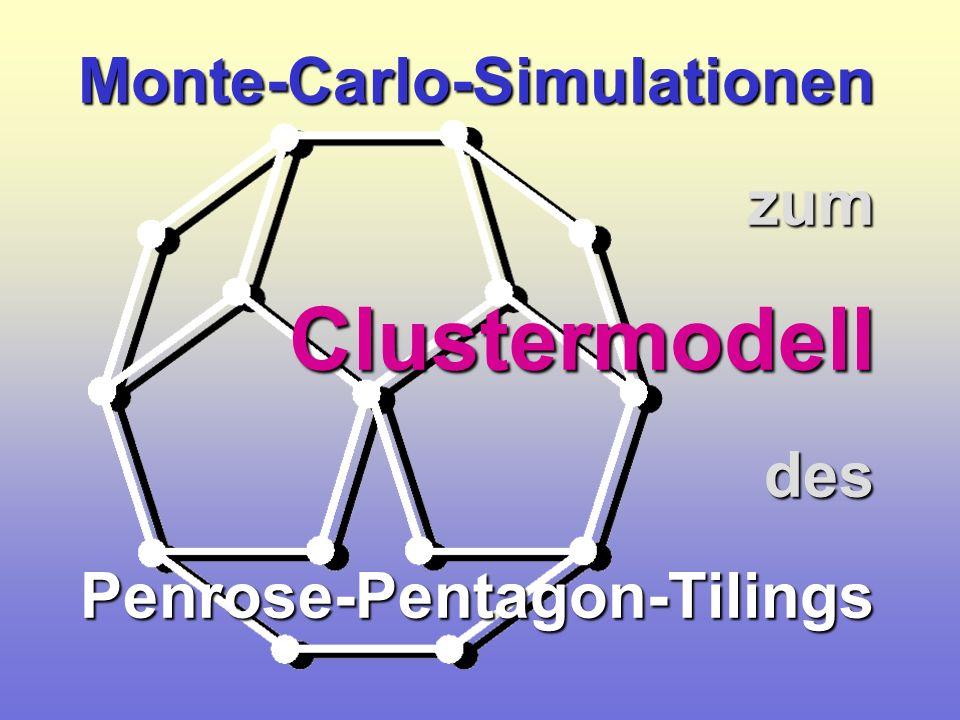 Clustermodell Monte-Carlo-Simulationen zum des