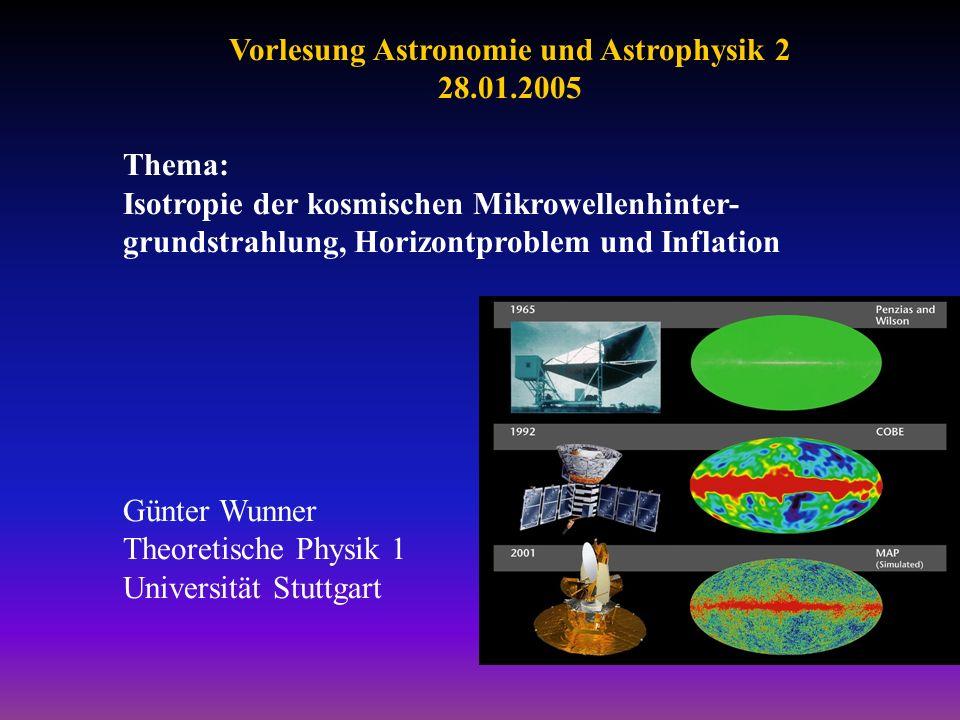 Vorlesung Astronomie und Astrophysik 2