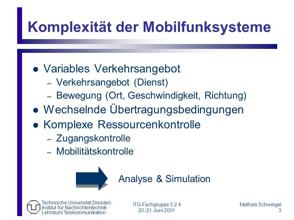 Komplexität der Mobilfunksysteme