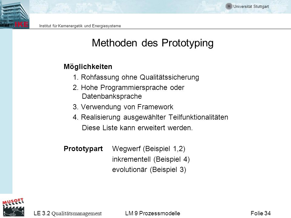 Methoden des Prototyping
