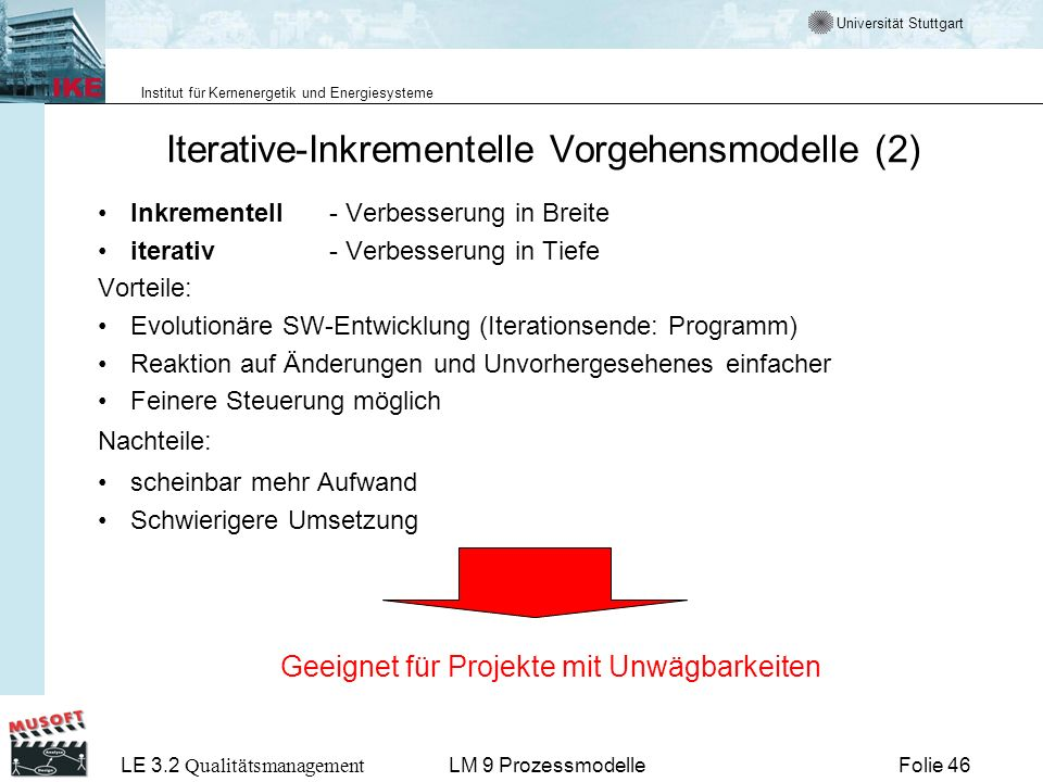 Iterative-Inkrementelle Vorgehensmodelle (2)