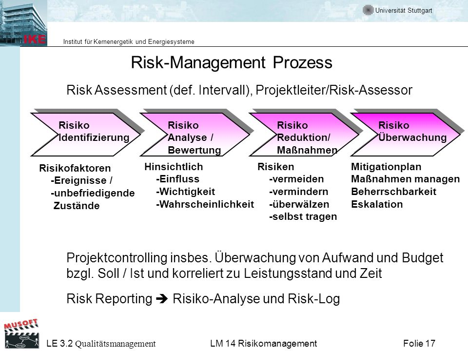 Risk-Management Prozess