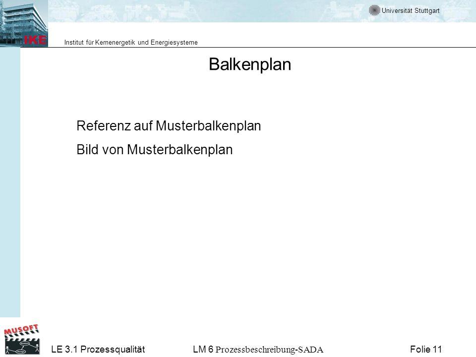 Balkenplan Referenz auf Musterbalkenplan Bild von Musterbalkenplan