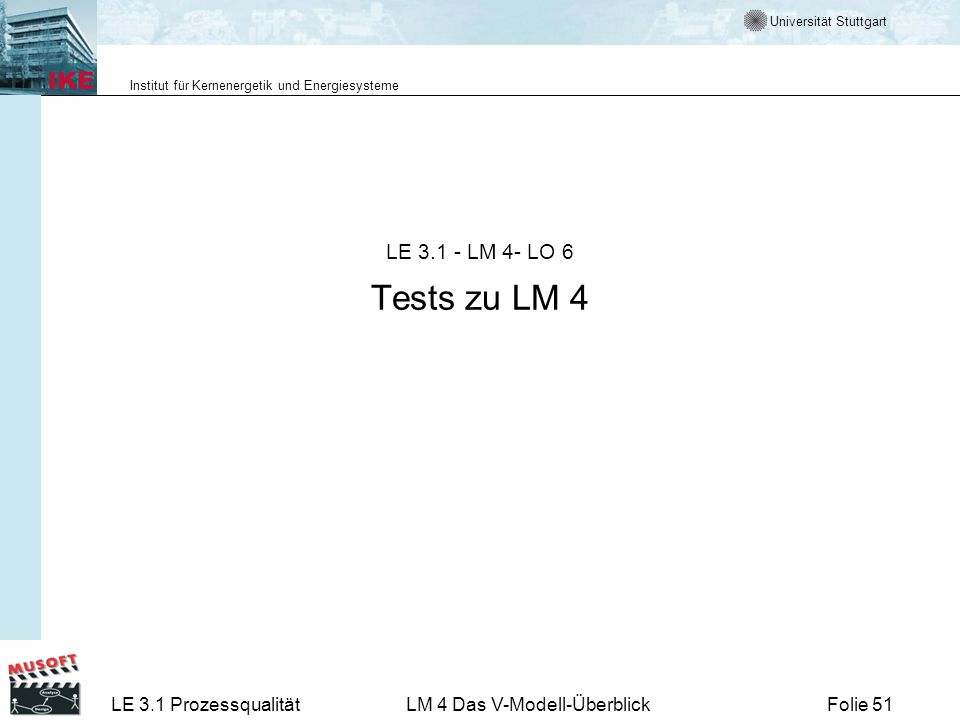 LE 3.1 - LM 4- LO 6 Tests zu LM 4