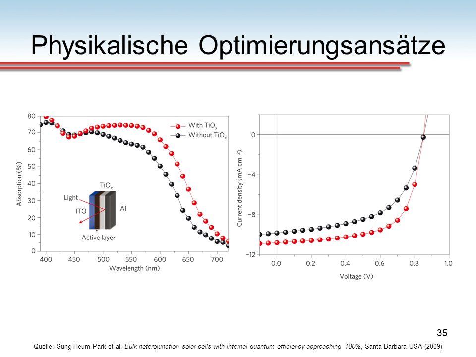 Physikalische Optimierungsansätze