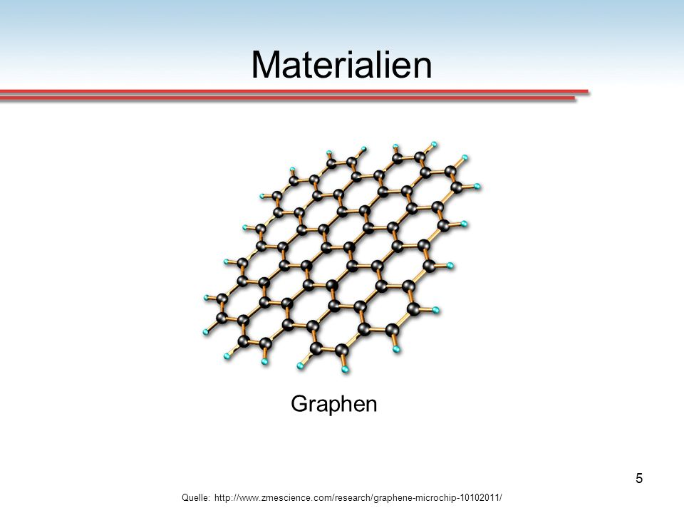 Materialien Graphen Quelle: http://www.zmescience.com/research/graphene-microchip-10102011/