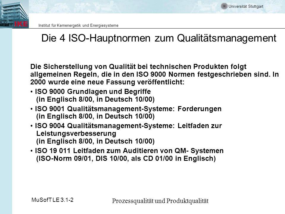 Die 4 ISO-Hauptnormen zum Qualitätsmanagement