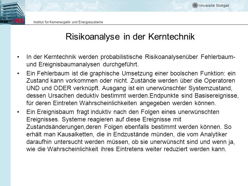 Risikoanalyse in der Kerntechnik