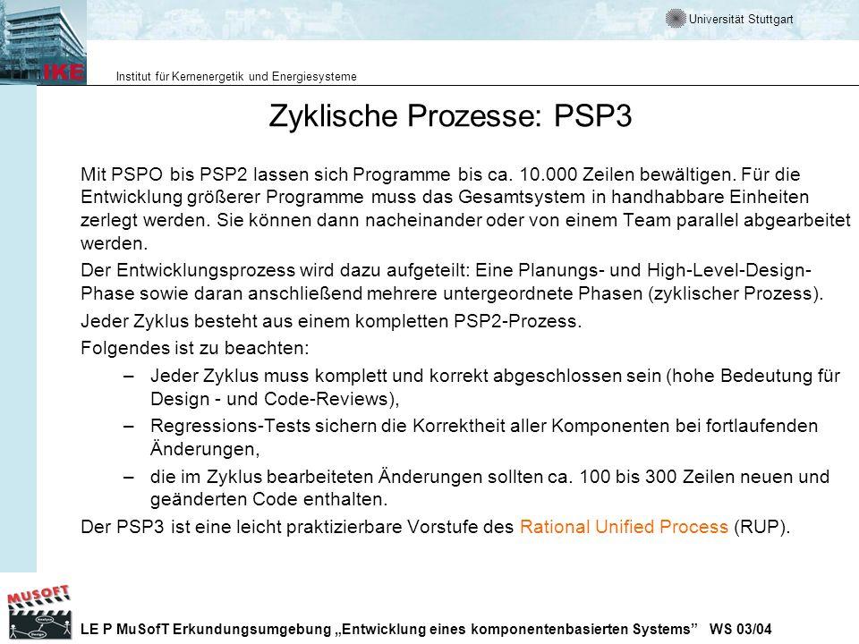 Zyklische Prozesse: PSP3