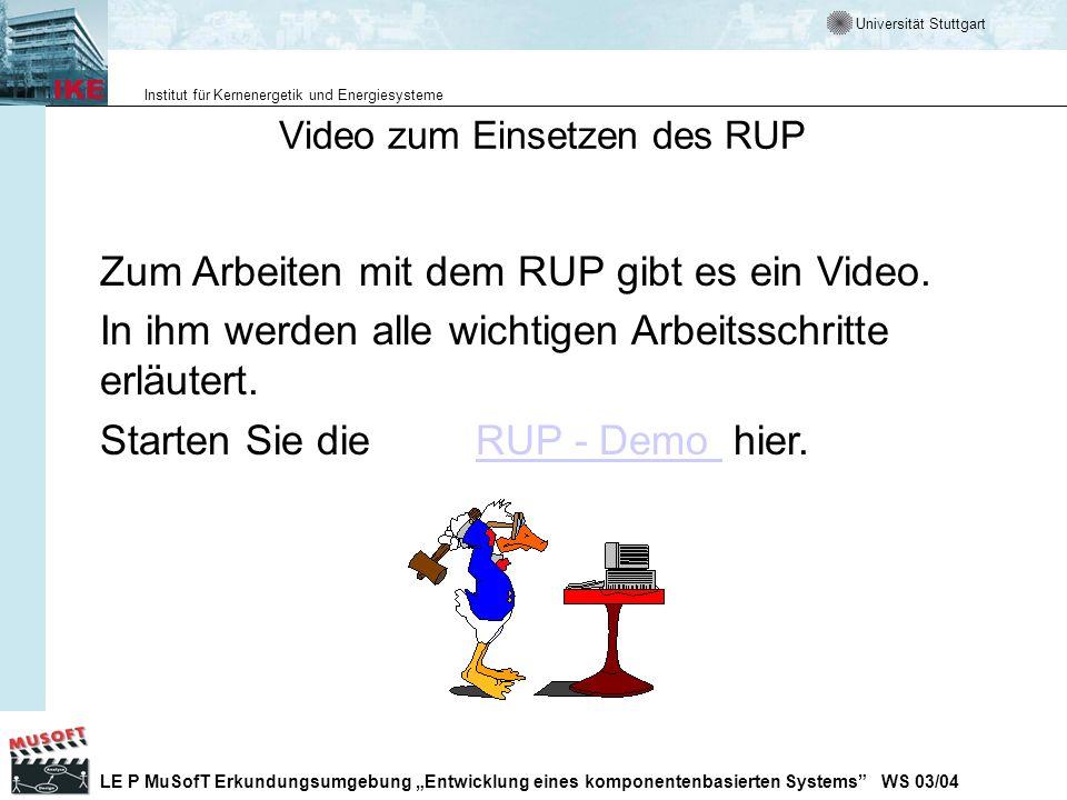 Video zum Einsetzen des RUP