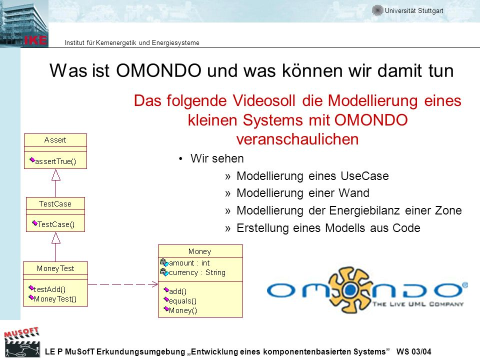 Was ist OMONDO und was können wir damit tun