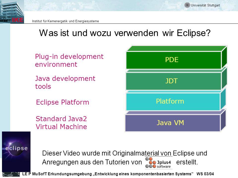 Was ist und wozu verwenden wir Eclipse