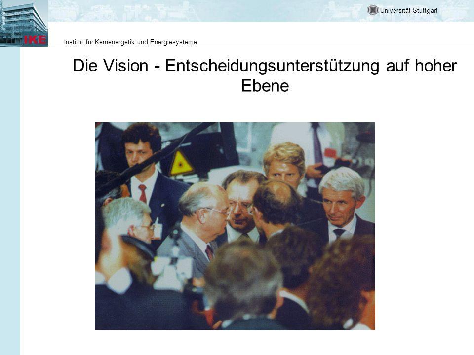 Die Vision - Entscheidungsunterstützung auf hoher Ebene