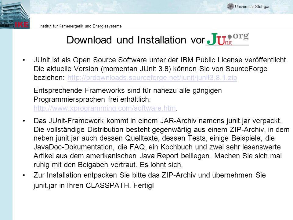 Download und Installation von
