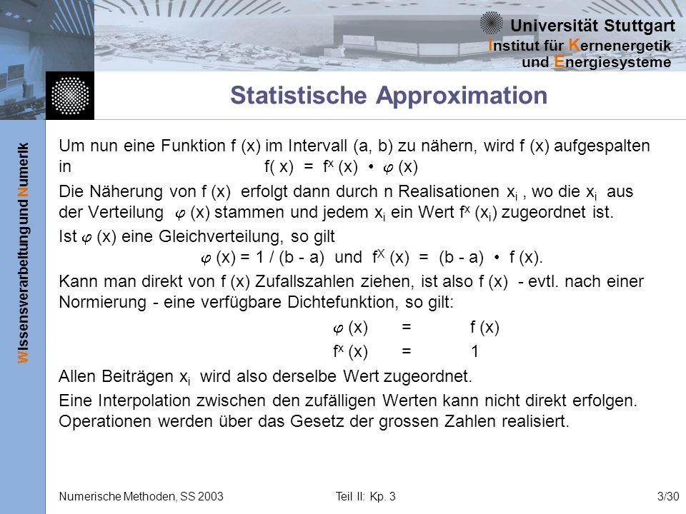 Statistische Approximation