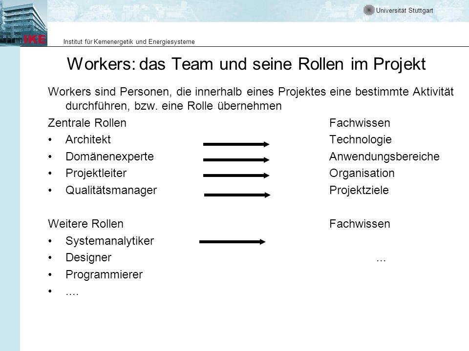 Workers: das Team und seine Rollen im Projekt