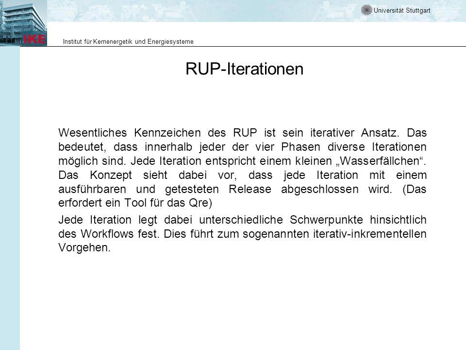 RUP-Iterationen