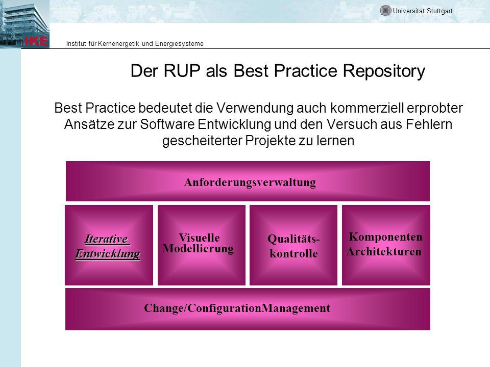 Der RUP als Best Practice Repository