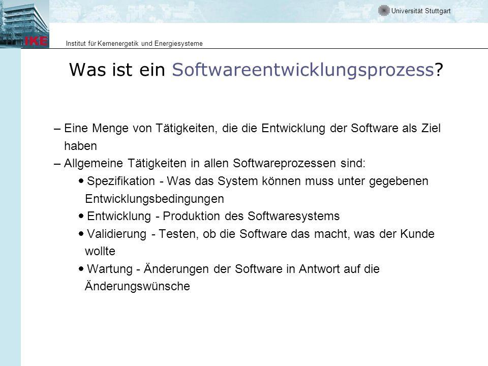 Was ist ein Softwareentwicklungsprozess