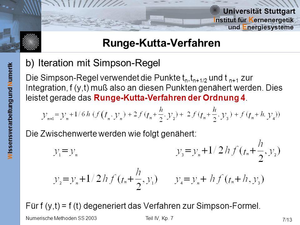Runge-Kutta-Verfahren