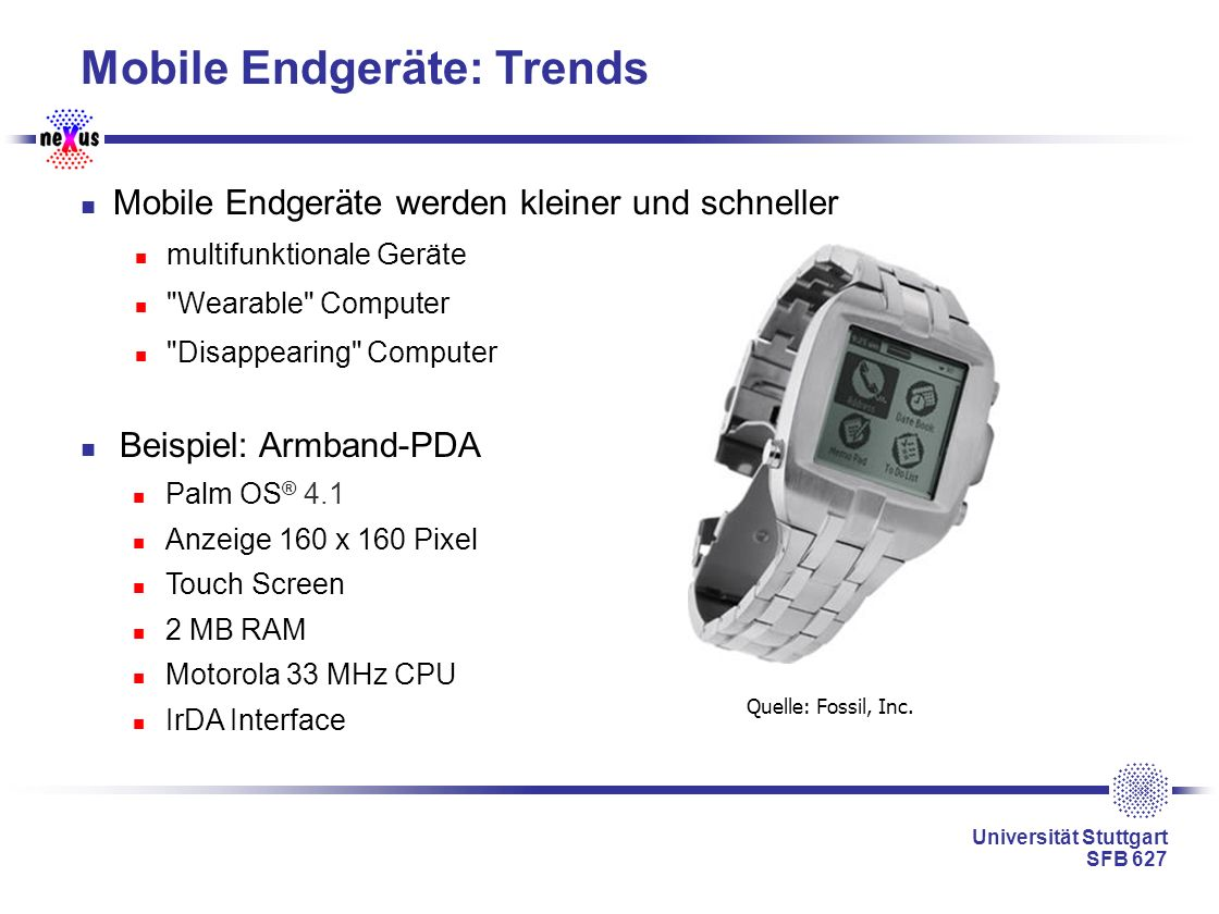 Mobile Endgeräte: Trends