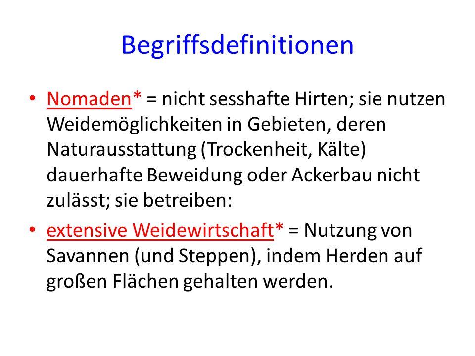 Begriffsdefinitionen