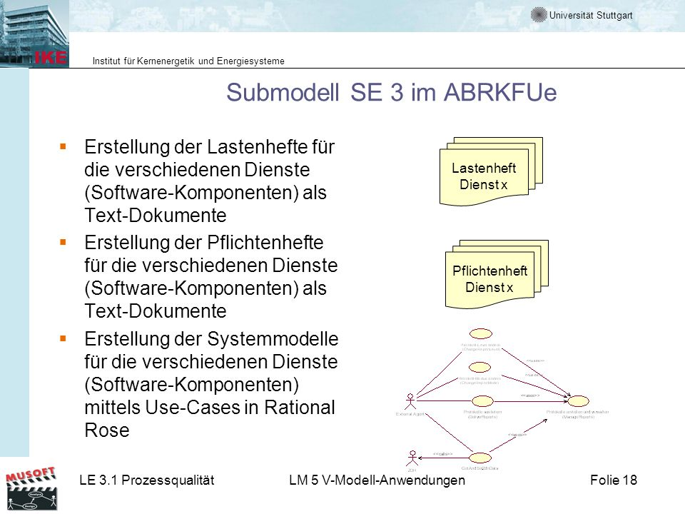 Submodell SE 3 im ABRKFUe