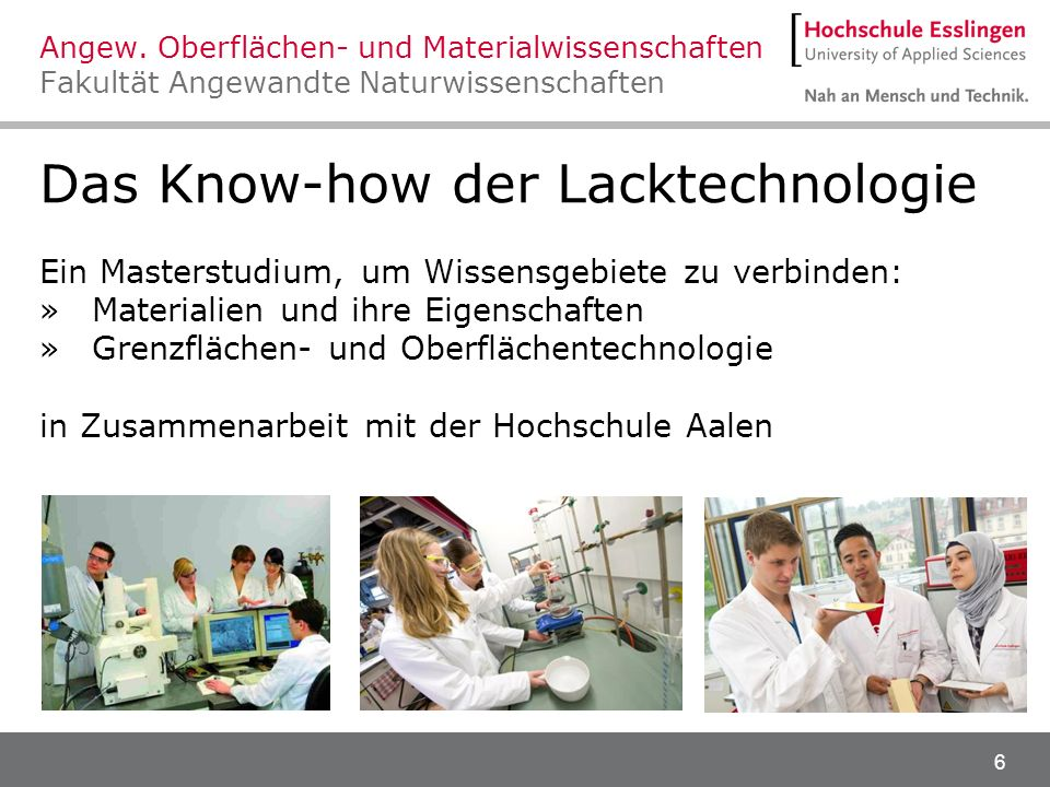 Das Know-how der Lacktechnologie