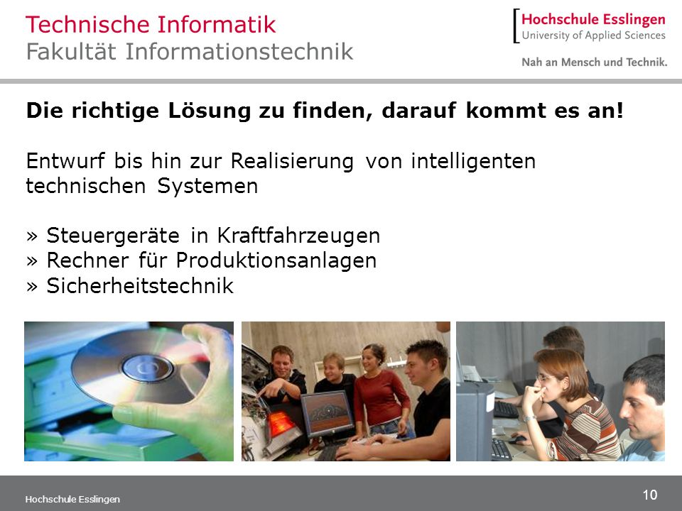 Technische Informatik Fakultät Informationstechnik