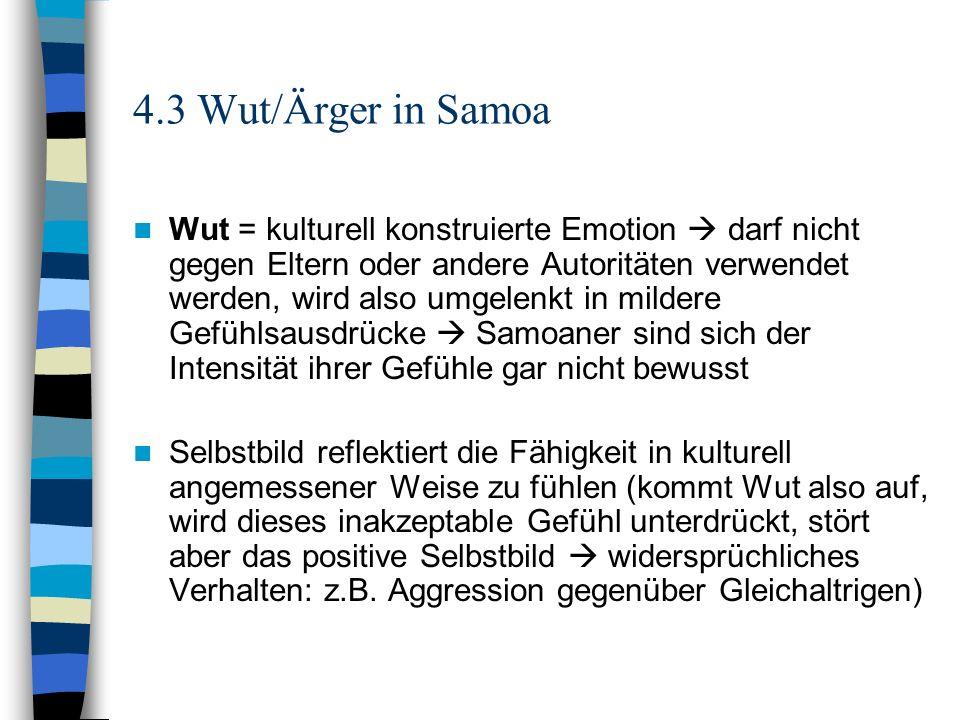 4.3 Wut/Ärger in Samoa