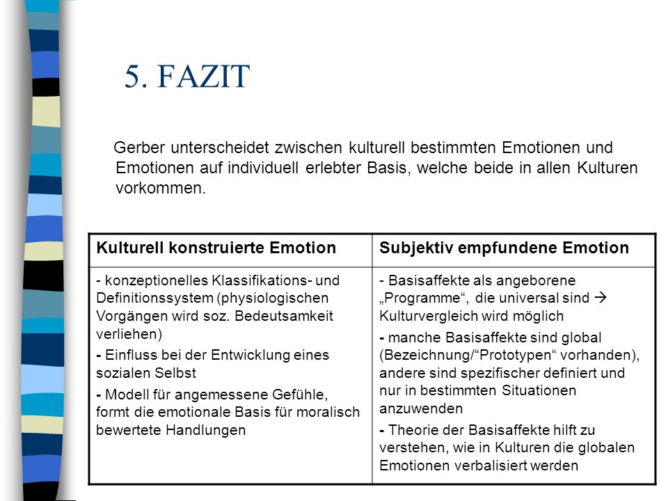 5. FAZIT