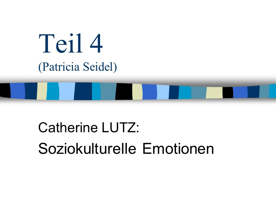 Teil 4 (Patricia Seidel)