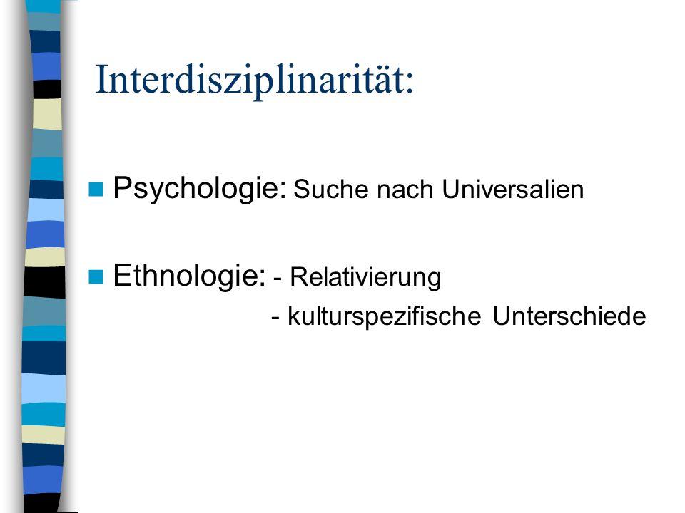 Interdisziplinarität: