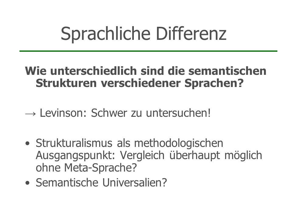 Sprachliche Differenz