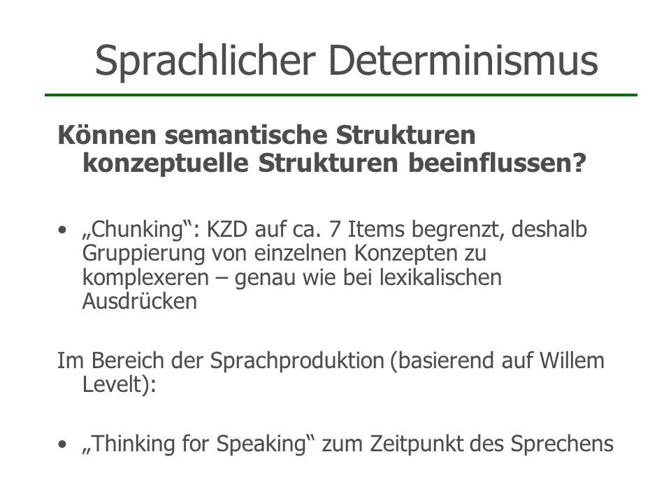 Sprachlicher Determinismus