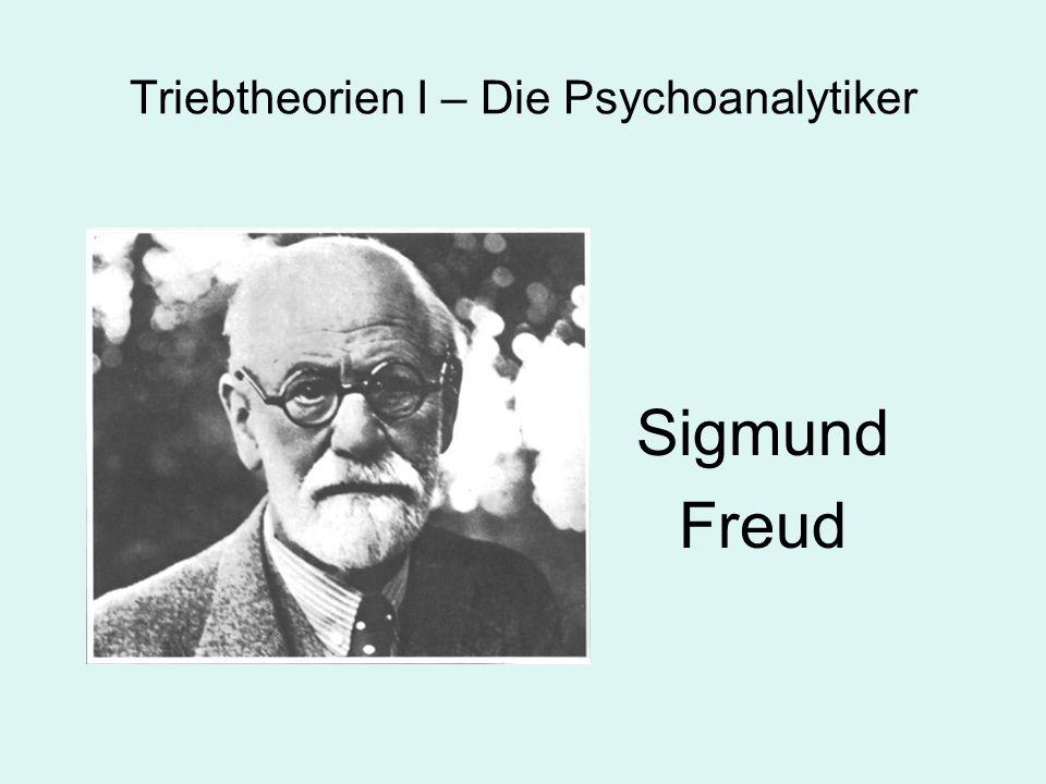 Triebtheorien I – Die Psychoanalytiker