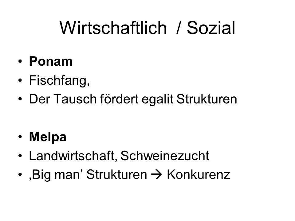 Wirtschaftlich / Sozial
