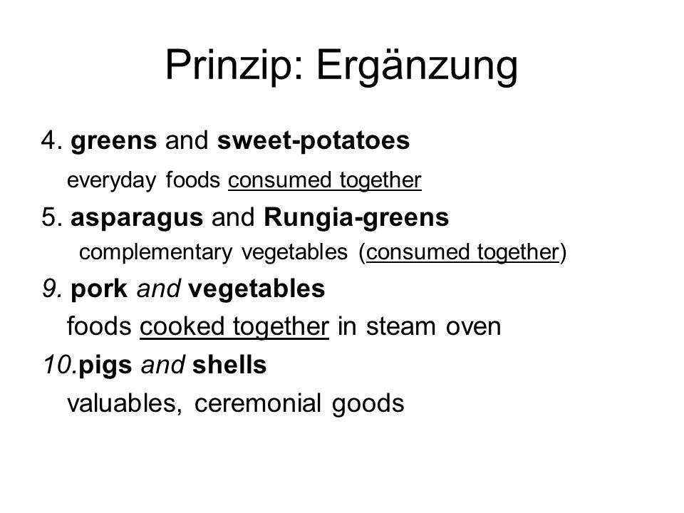Prinzip: Ergänzung 4. greens and sweet-potatoes