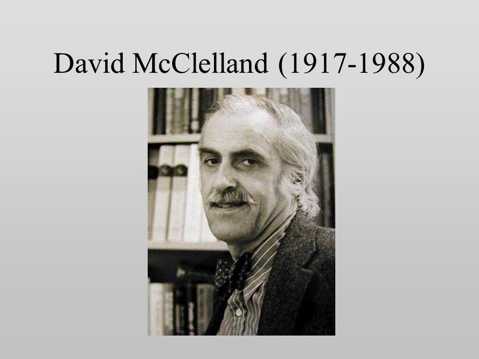 David McClelland (1917-1988)